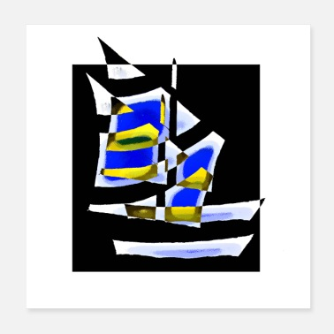 Sailboat sailboats - Poster