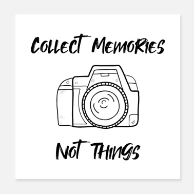 Collections Collect memories - Poster