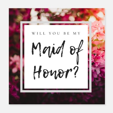 Dama De Honor [Poster] Will you be my Maid of Honor? - Poster
