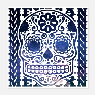Spacemonster MEXICO MEXICAN WORLD TALL DEAD HEAD (affiche) - Poster