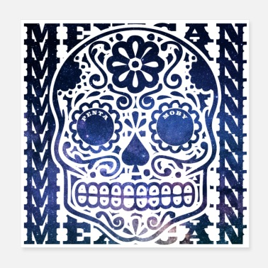 Tradition MEXICO MEXICAN WORLD TALL DEAD HEAD (plakat) - Poster