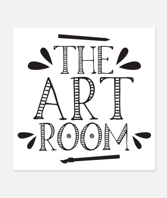 Artist Posters - The art room - Posters white