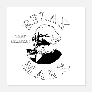 Misappropriation RELAX MARX! - Poster