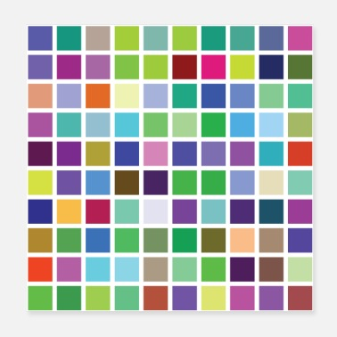 Colour large colour pallet many colours! - Poster