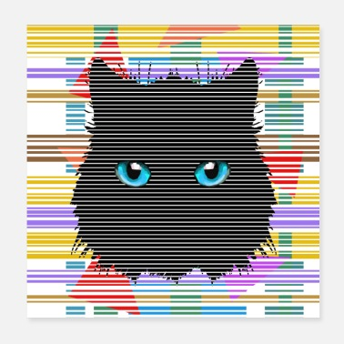 Cat Cat's eyes - Poster