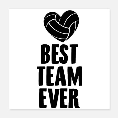 Volleyball Team Volleyball Team | Team coach gift ideas - Poster