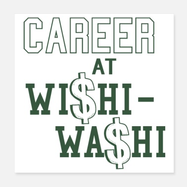 Labour Career at Wishi Washi Funny Gift Exchange - Poster