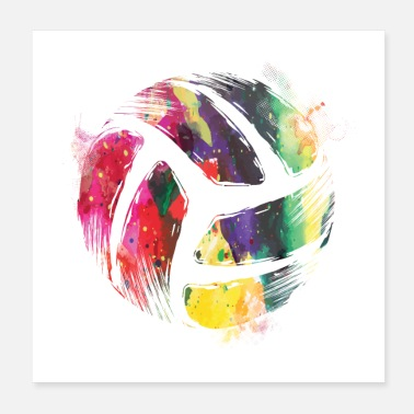 Beach Volleyball Playing volleyball | Beach volleyball team gift - Poster