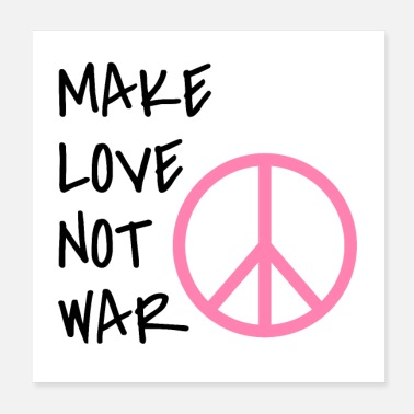Make It Rain Make Love Not War - Poster