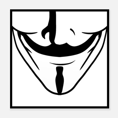 Anonymous Maske - Poster
