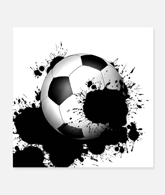 Sport Posters - Soccer - Posters white