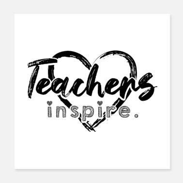 Teacher Teacher teacher School class teacher gifts - Poster