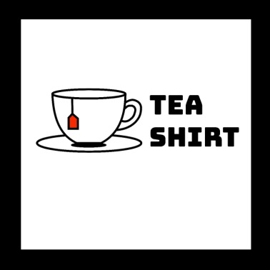 Te-shirt gave cup - Poster 20x20 cm