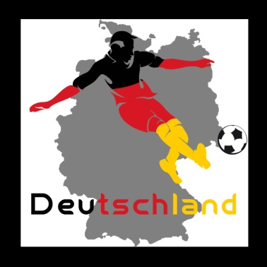 Germany football - Poster 20x20 cm