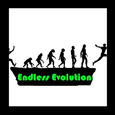 Endless evolution - Poster 20x20 cm