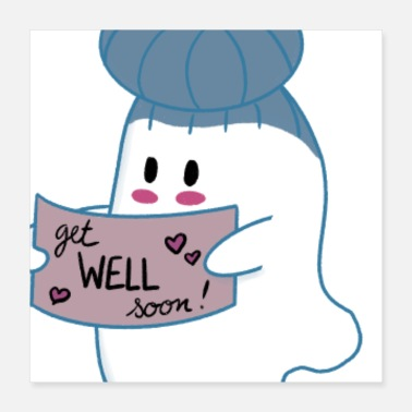 Wellness Little Ghost Well - Poster