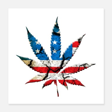 Ultras Weed Sheet American Style - Poster