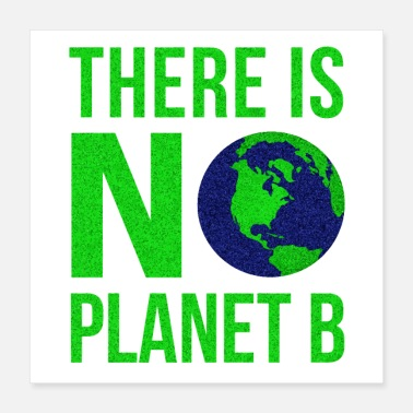 Planet Erde There Is No Planet B - Tag der Erde - Poster