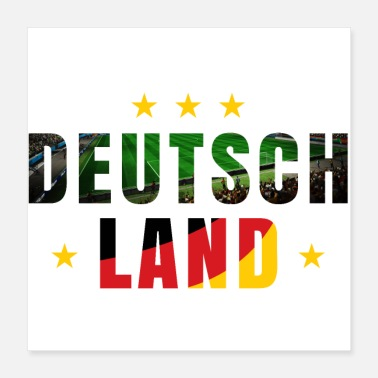 Football Team Germany football - Poster 40x40 cm