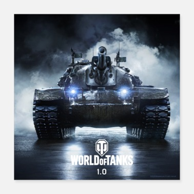 Gaming World of Tanks WoT M48A5 PATTON - Poster