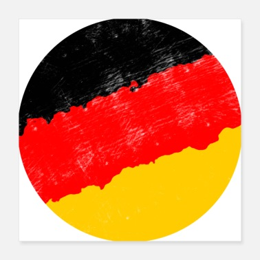 Germany Flag Germany flag - Poster