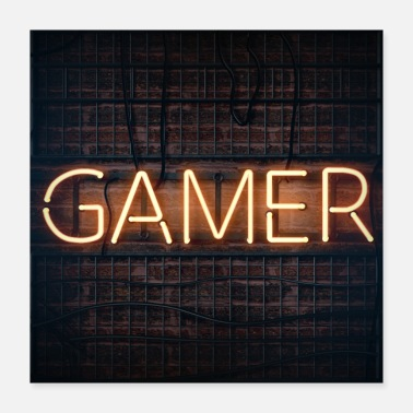 Game Over gamer - Poster