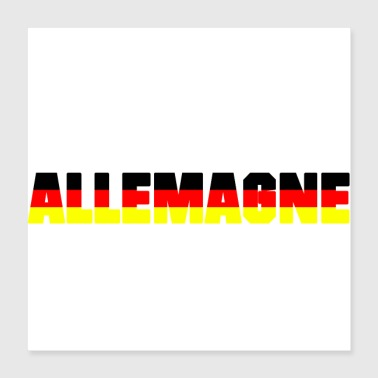 Germany GERMANY - Poster 40x40 cm