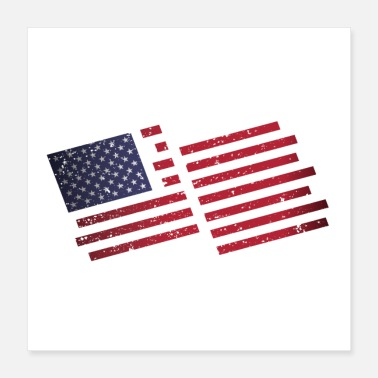 United USA - Poster 40x40 cm