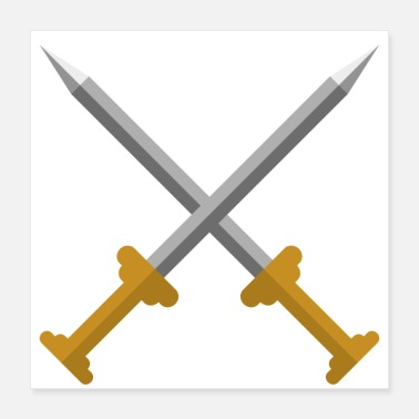 Sword Fight Swords - Poster