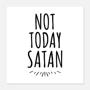 Julián Not Today Satan - Poster