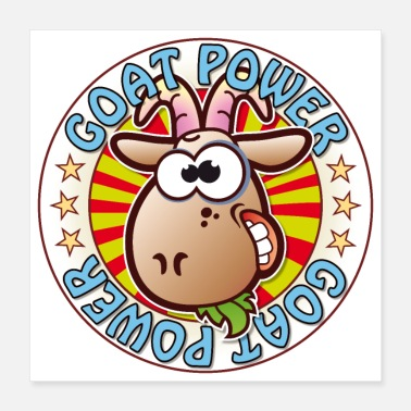 Power Metal Goat Power - Poster