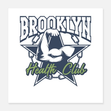 Health Brooklyn Health Club - Poster