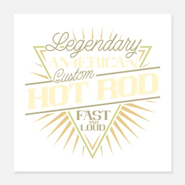 Legendarische HOT ROD - Poster