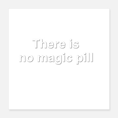 Elite There is no magic pill cap - Poster