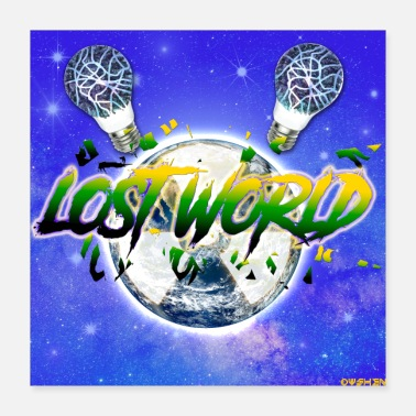 Outerspace Lost World - Poster