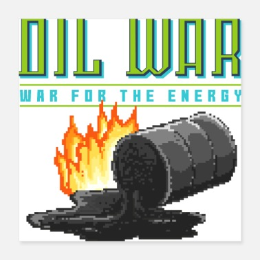 Oil Stop oil wars - Poster