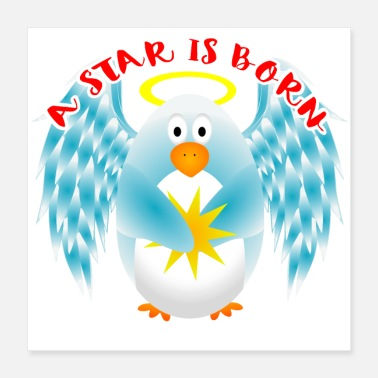 Born In A Star Is Born - Poster 40x40 cm