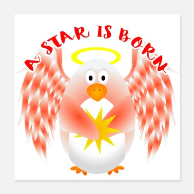 Baby Bump Baby Star - Poster