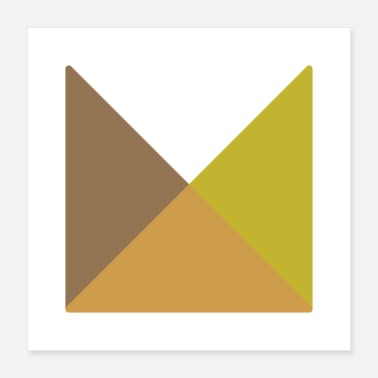 Geometric Geometric, abstract design - Poster