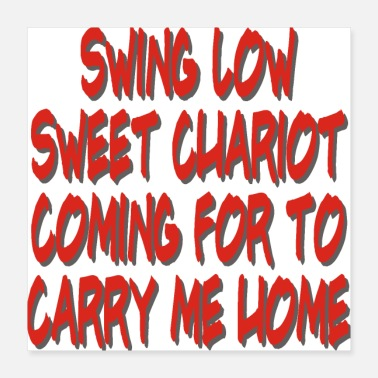 Verset De La Bible SWING SWEET LOW SWING - Poster