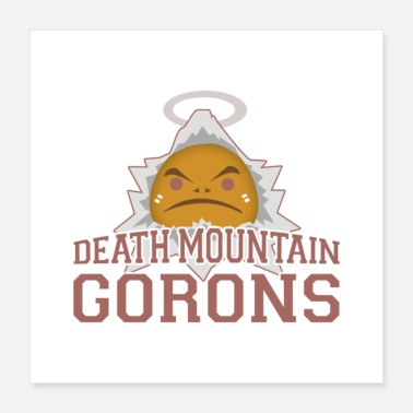 Death Metal Death Mountain National Park logo - Poster