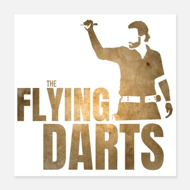 Fan Article THE FLYING DARTS - Poster