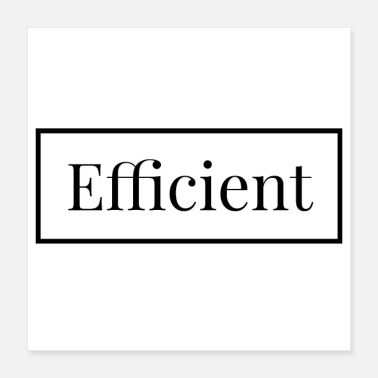 English Efficient - english - Poster