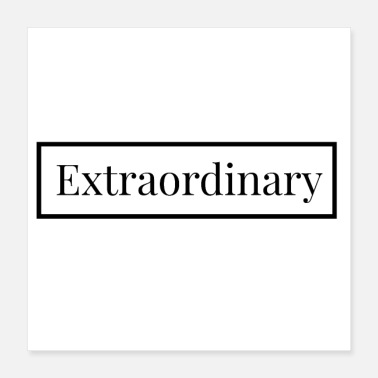 English Extraordinary - English for: exceptional - Poster