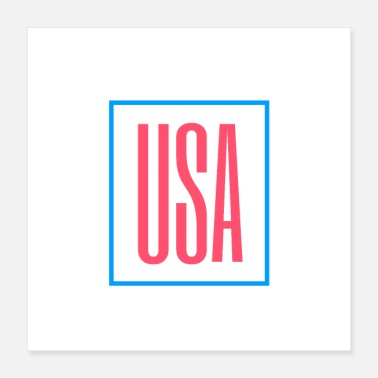 State USA - United States of America - Poster