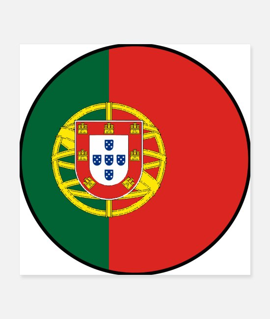 World Championship Posters - Portugal flag banner cool soccer fan shirt - Posters white