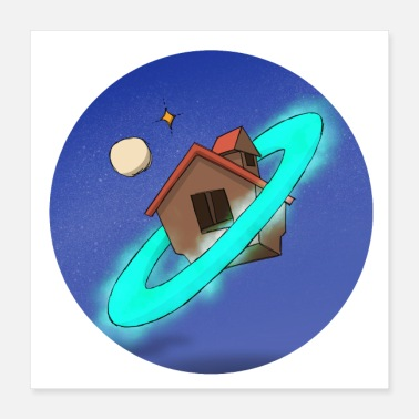 Outerspace Space Home Universe Stars Galaxy Dream - Poster