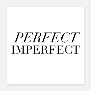 Perfect Perfect. Imperfect. - Poster