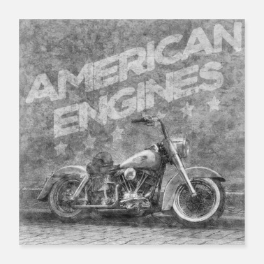 American American engines - Poster
