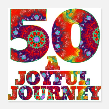 Bday 50 A Joyful Journey - Poster